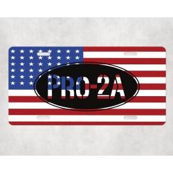 """2A """" Second Amendment """" Tag"""