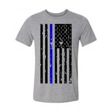 Grunge Police Flag